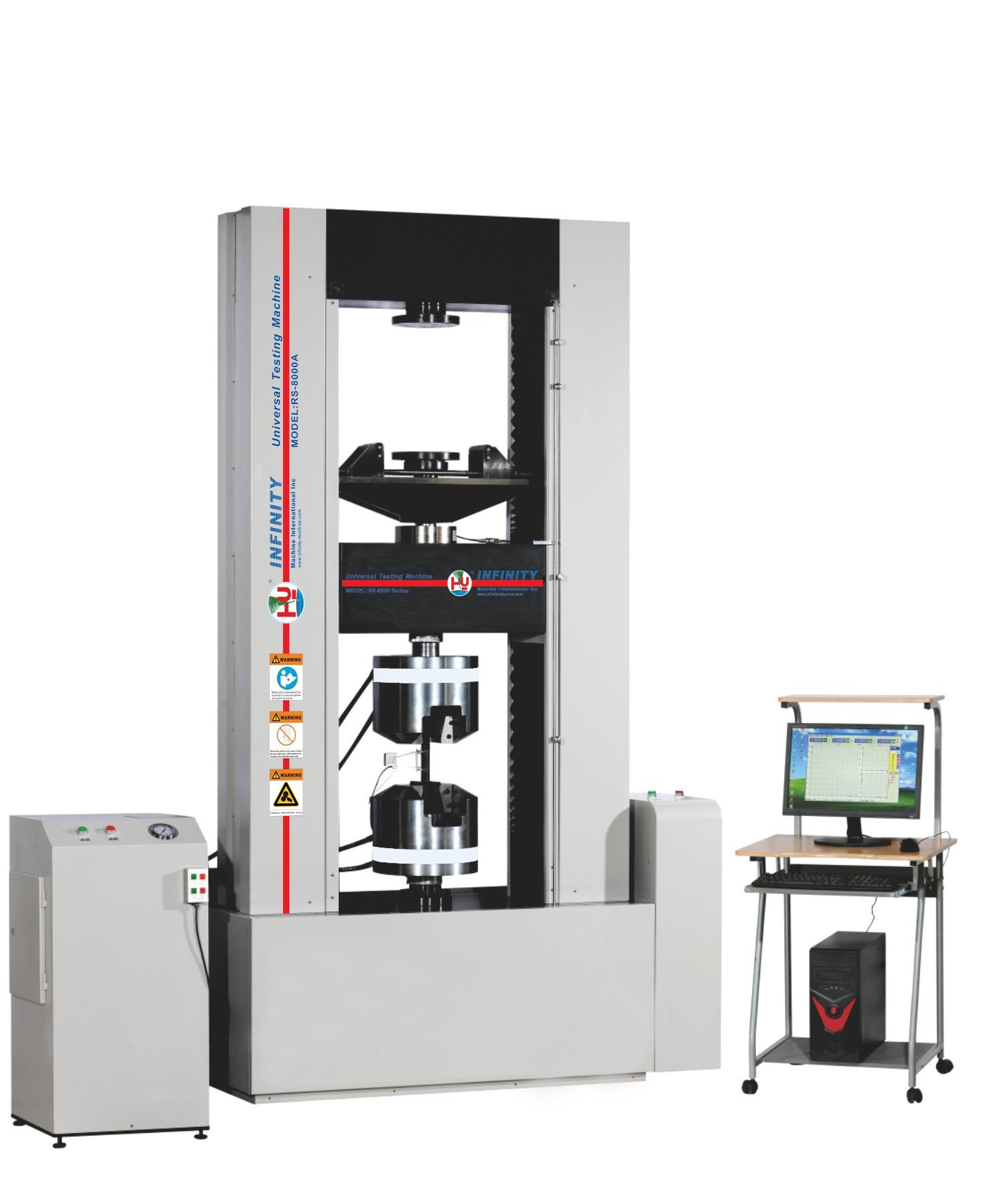600KN Force UTM / Universal Testing Machines Controlled by Computer GB/T228 -2002