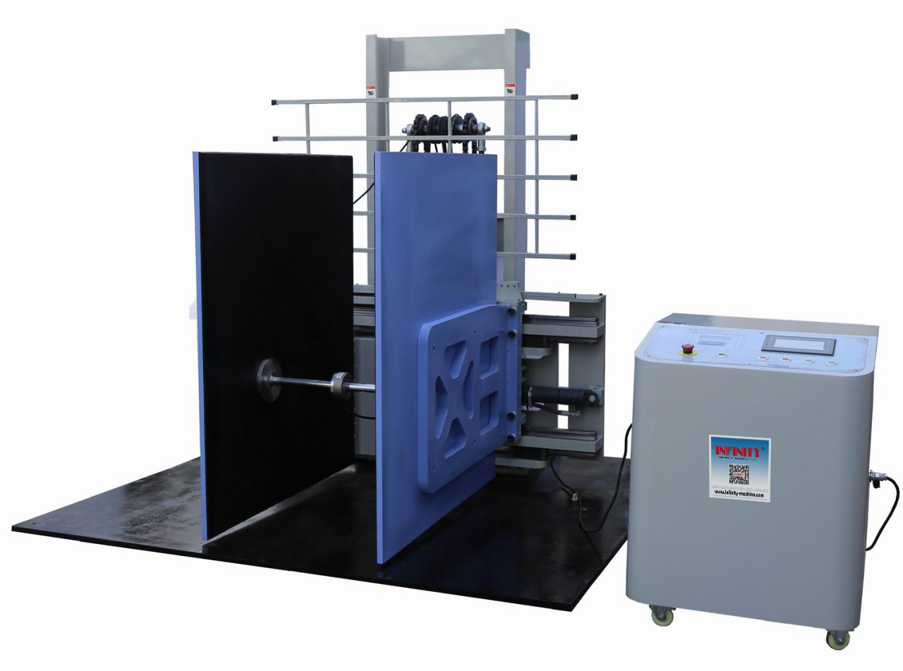 Max. Load 1000KG Package Testing Equipment 2000 lbs Compression - Horizontal Clamp Tester Machine ASTM D6055