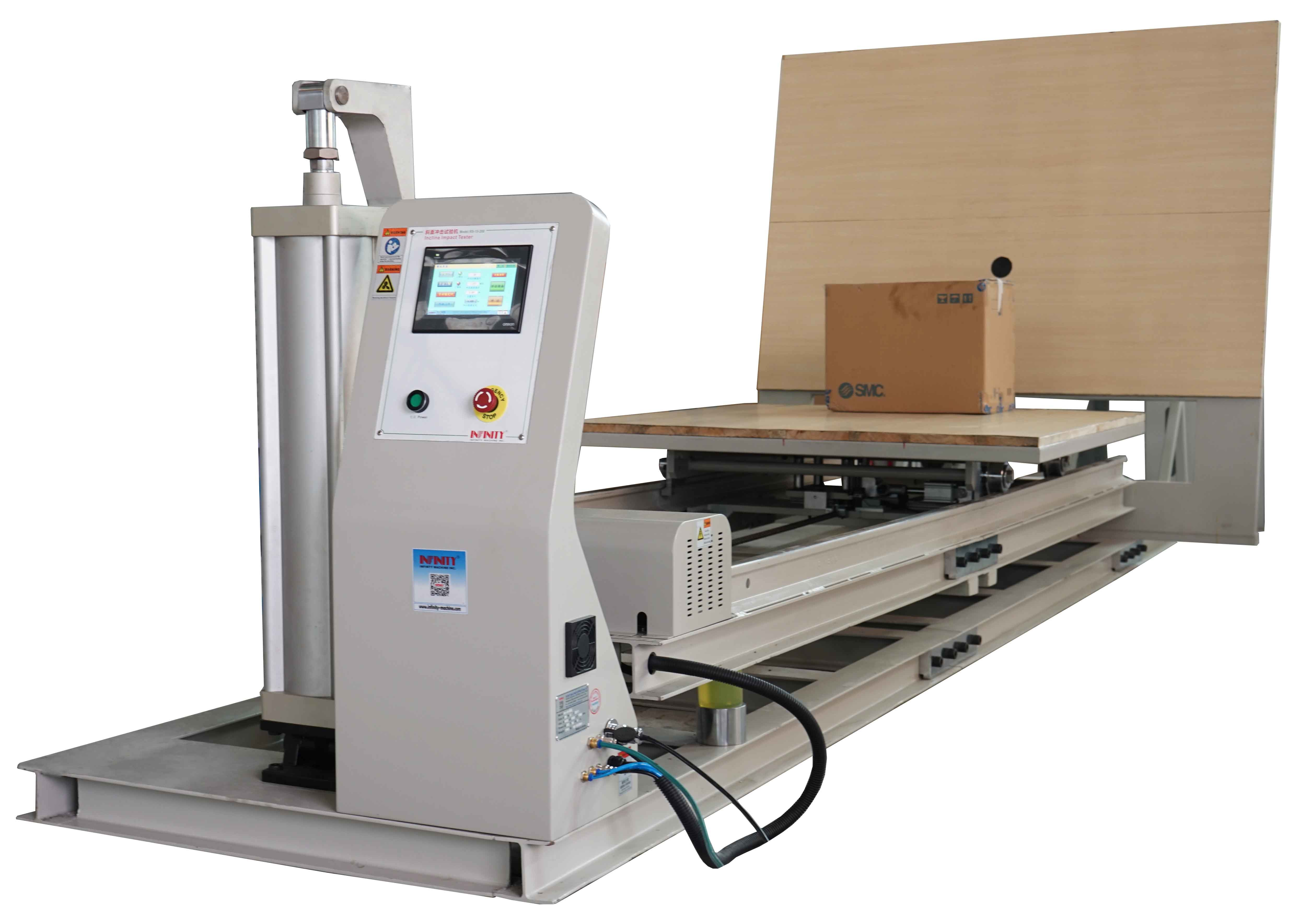 GB/T 4857 200kg Package Impact Testing Machine with Inclined Plane Impact Test