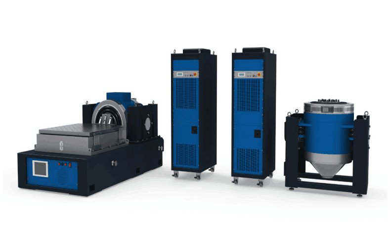 High Frequency Package Testing Equipment , Vibration Test Bench 1 Year Warranty