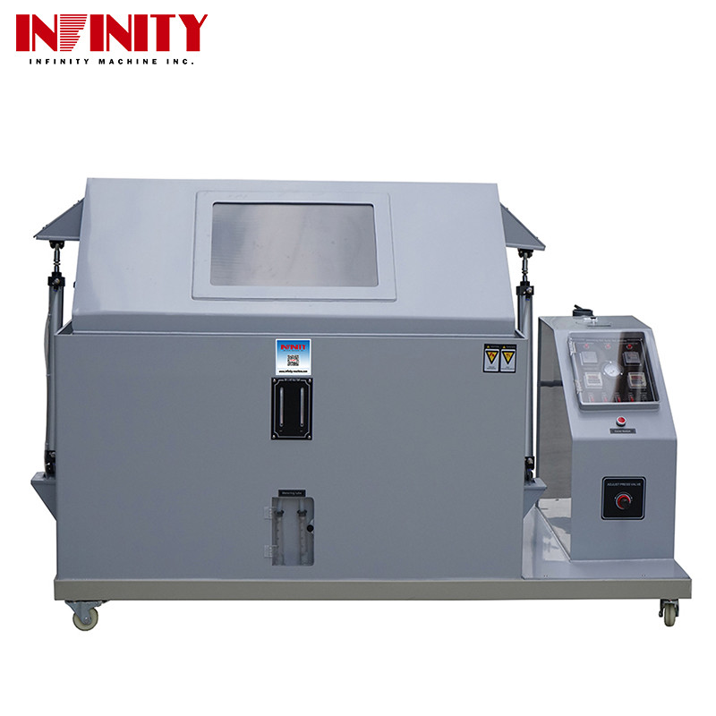 Gray Color Environmental Test Chambers Salt Spray Test Machine For Coating Corrosion Resistance